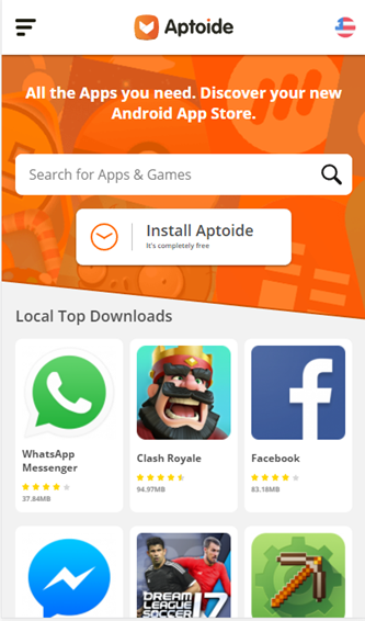 install play store by aptoide
