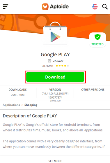 boton download play store